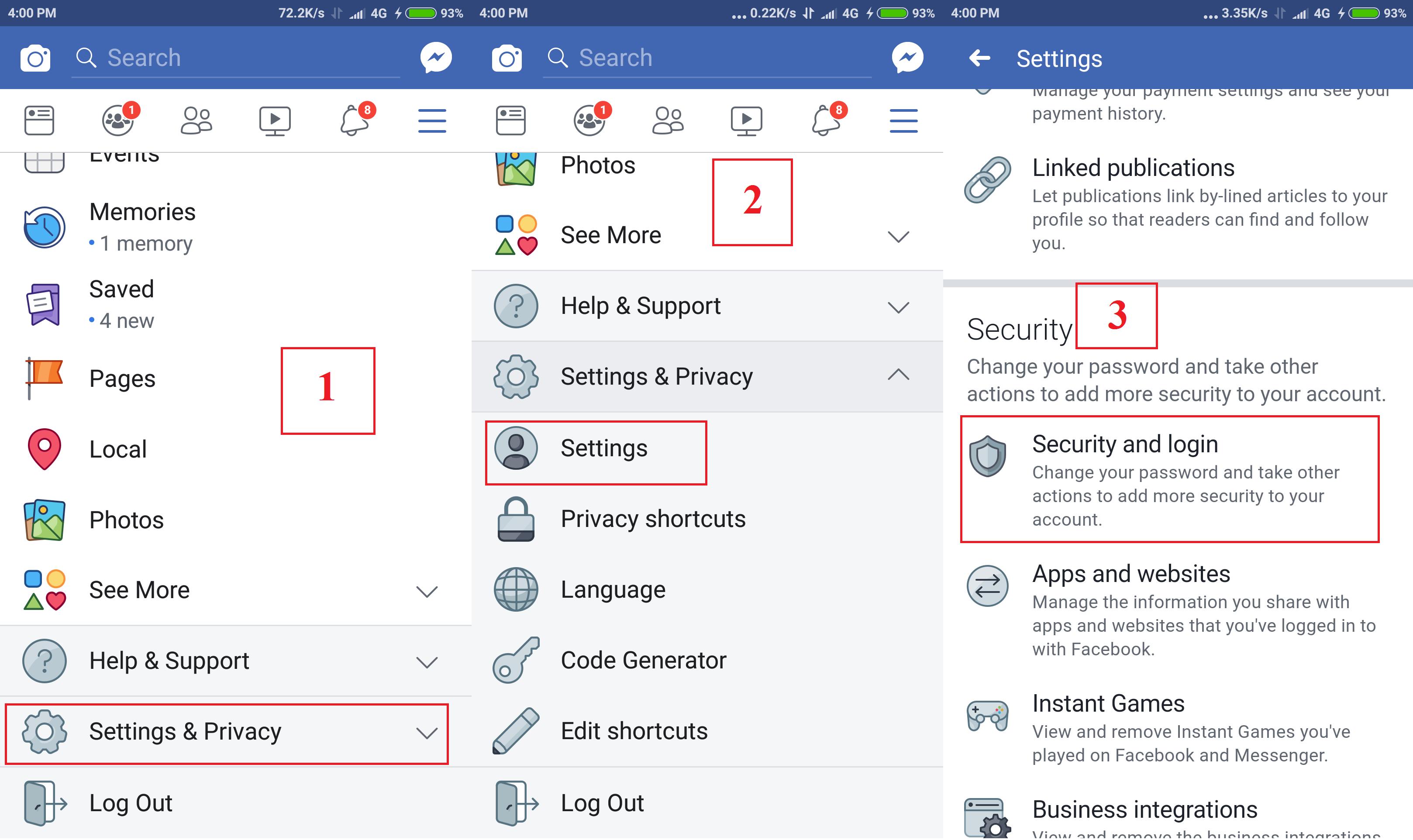 Facebook Account Me 2 Step Verification Enable Kaise Kare